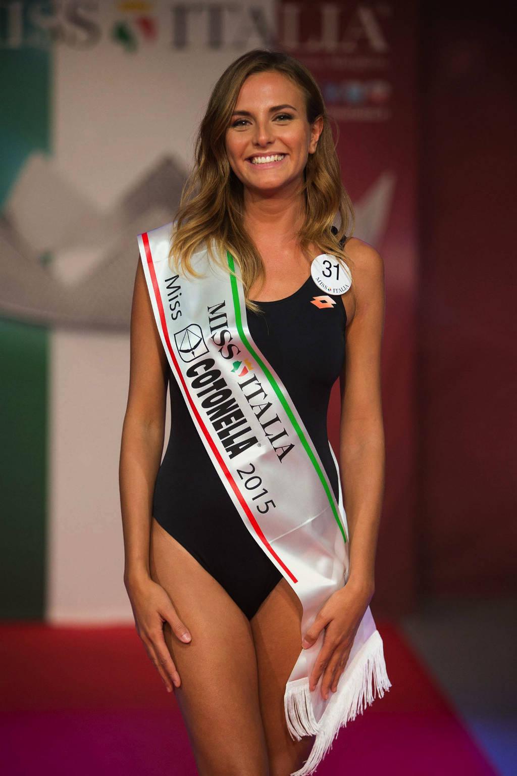 Miss Italia, le prime dieci fasce