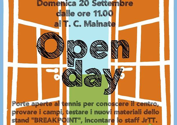 open day tennis club malnate