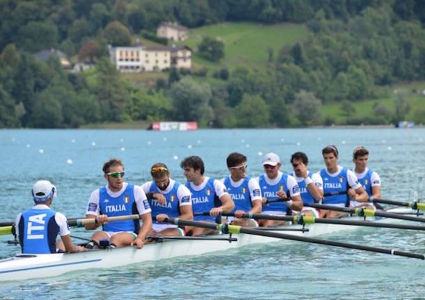 otto senior italia mondiali di canottaggio 2015