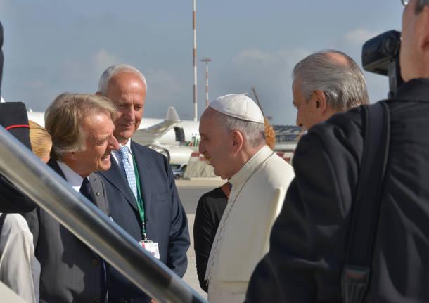 Papa Francesco e Luca cordero di Montezemolo