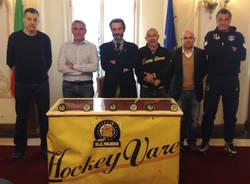 presentazione hockey club mastini varese