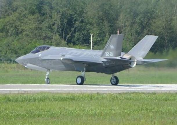 Primo volo per l'F-35 made in Italy