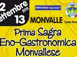 Sagra enogastronomica a Monvalle