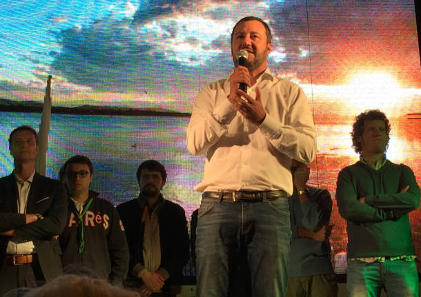 Salvini a Varese