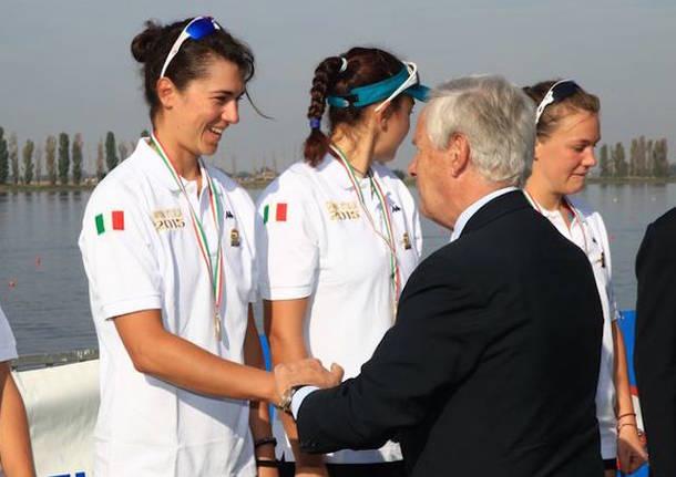 sara bertolasi campionati italiani 2015 canottaggio