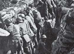 trincea trincee grande prima guerra mondiale soldati