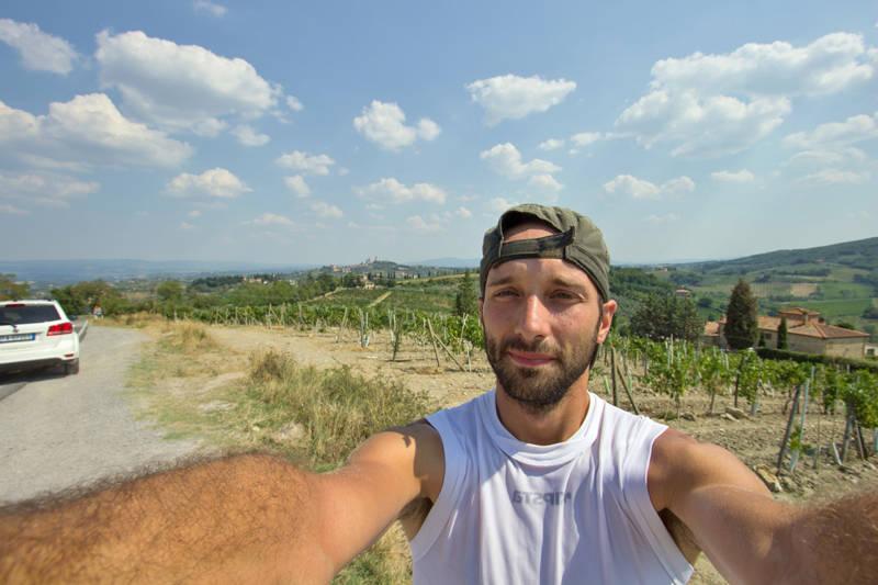 viaggio bici olgiate olona roma