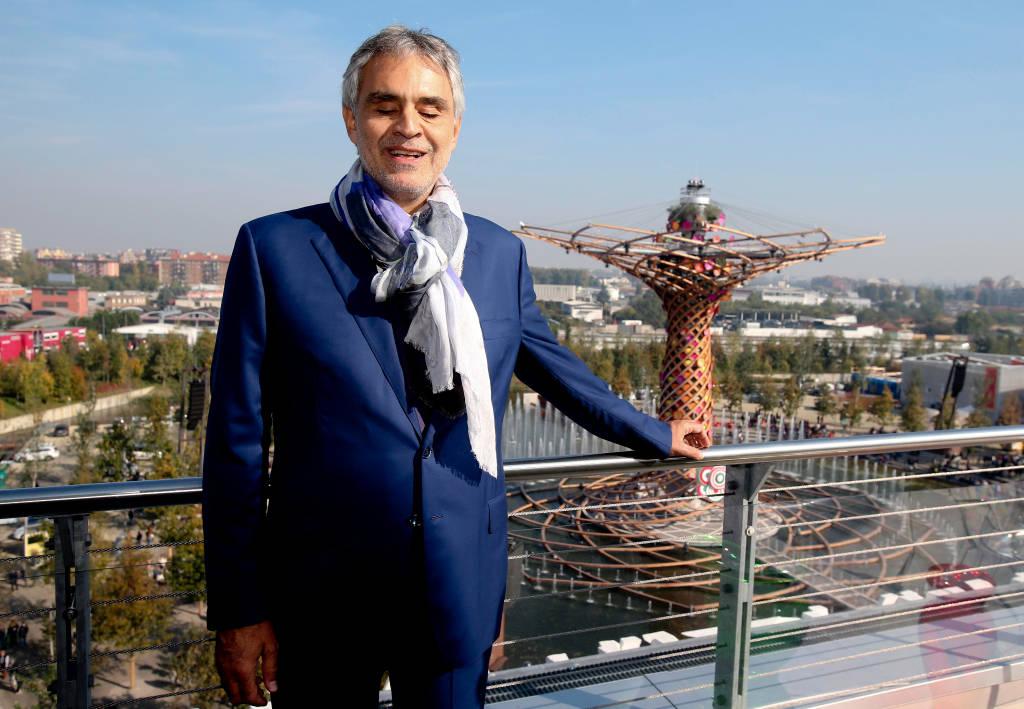 Andrea Bocelli a Expo2015