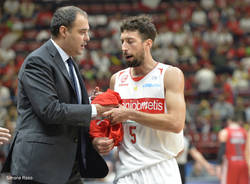 basket serie a EA7 Milano - Openjobmetis Varese 90-62