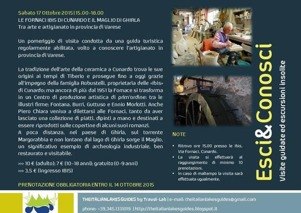 LE FORNACI IBIS DI CUNARDO E IL MAGLIO DI GHIRLA: Tra arte e artigianato in provincia di Varese