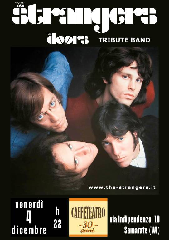The Doors Tribute Band The Strangers al Caffe Teatro ...