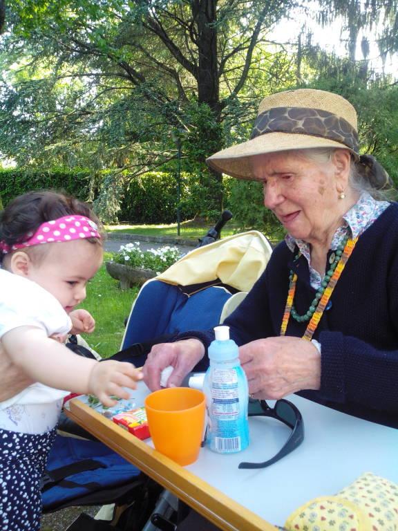 Nonna Olivacompie 101 anni