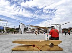 Colori e forme di Expo che sta per chiudere