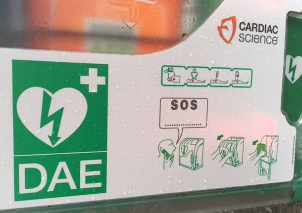 defibrillatore varese 3 ottobre 2015
