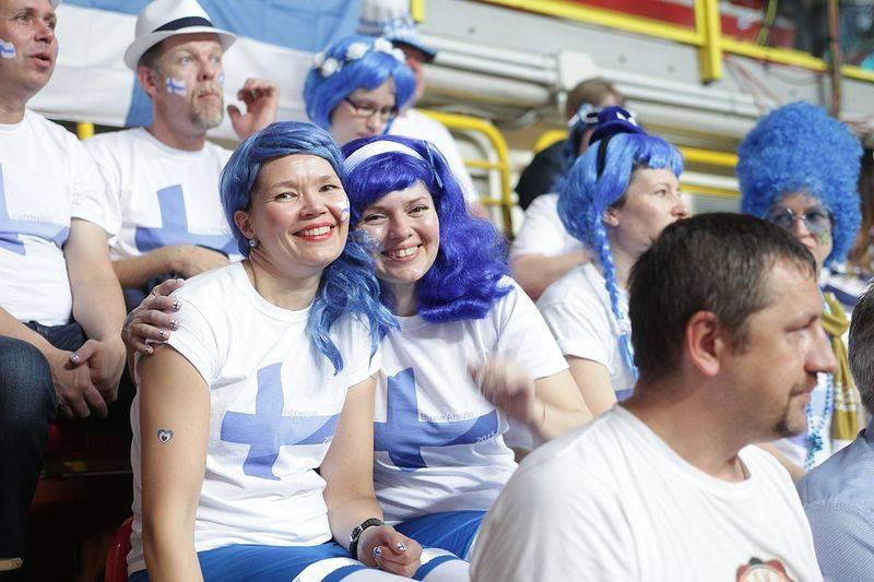 Eurovolley tifosi finlandia russia