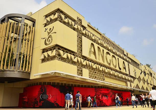 Expo: il padiglione Angola