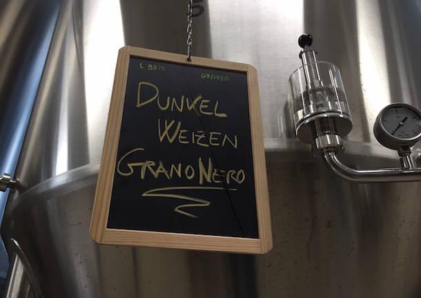 """La """"nascita"""" della birra Grano Nero"""