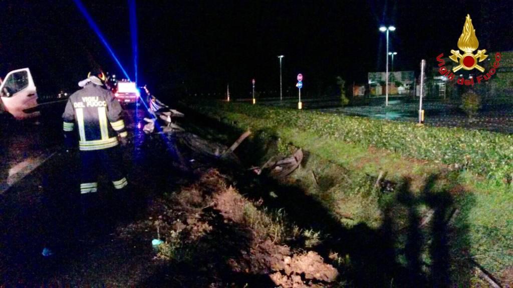 Incidente in A8 a Castronno