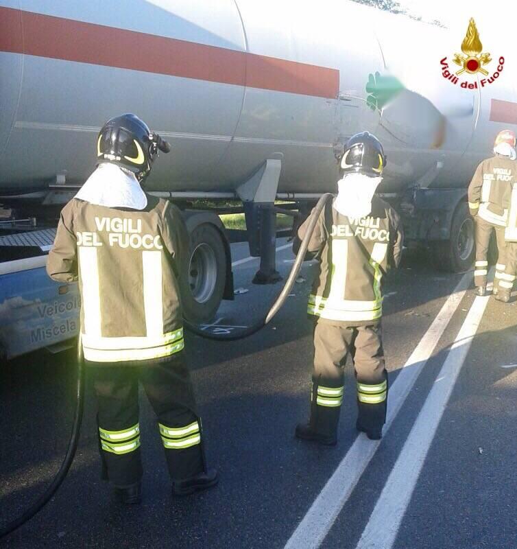 Incidente stradale Sesto Calende 16 ottobre