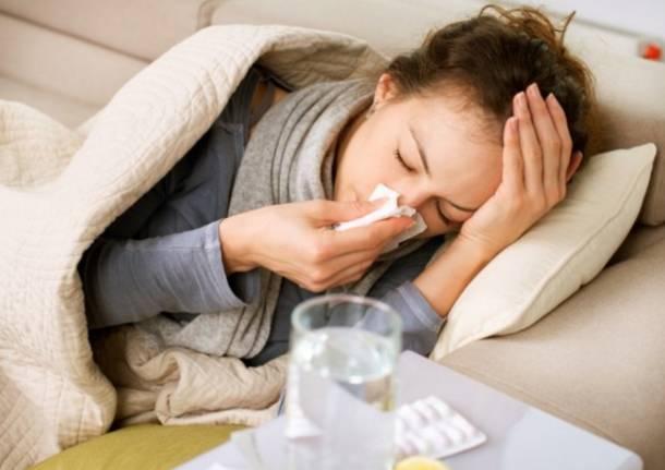 Influenza, a gennaio 125 mila lombardi a letto