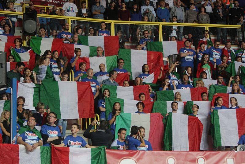 italia finlandia volley