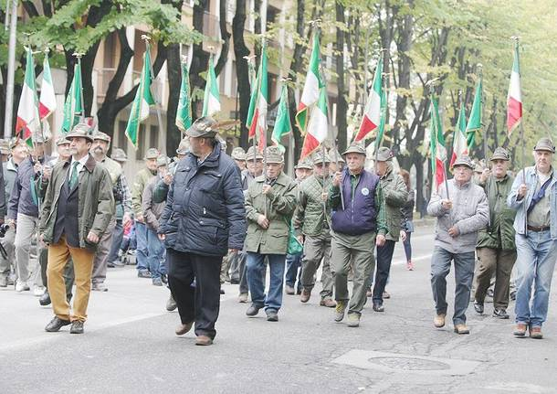 Alpini in corteo