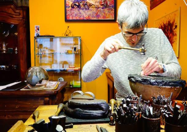 L'arte del cesello vive a Castiglione Olona