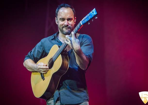 La Dave Matthews Band in concerto al Forum di Assago