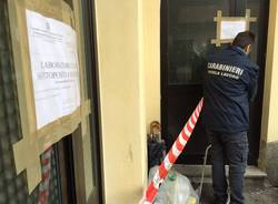 laboratorio tessile clandestino carabinieri lavoro