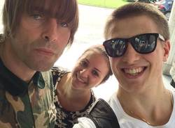 Liam Gallagher nel Varesotto
