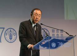 Mattarella e Ban Ki Moon ad Expo