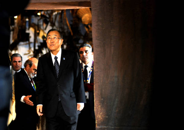 Ban Ki Moon all'Expo
