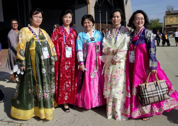 La Corea del Nord in festa ad Expo