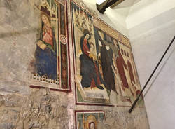Nella cripta di Santa Maria del Monte