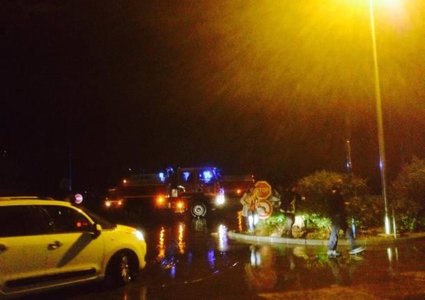 nizza cannes alluvione costa azzurra foto facebook