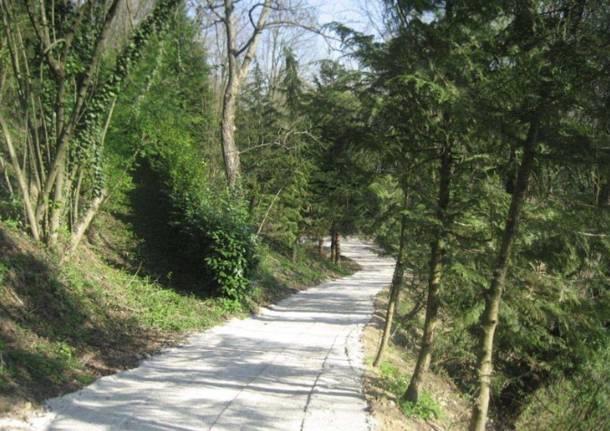 Nuovo sentiero nel Parco del Lura