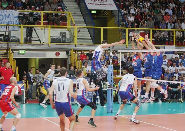 Eurovolley: Russia – Serbia 3-1