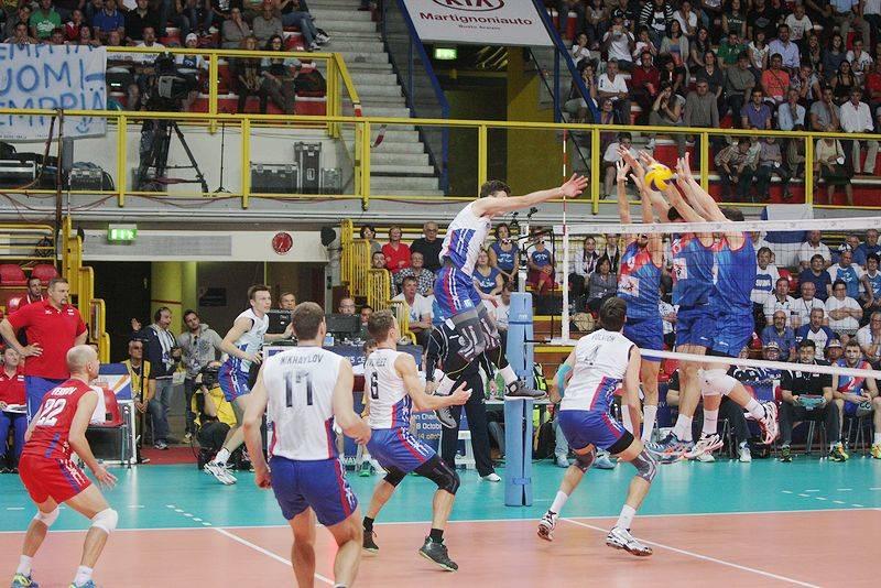 pallavolo europei maschili 2015 serbia russia busto arsizio