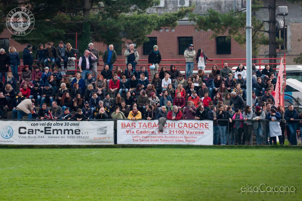 Prima partita in B per il rugby Varese