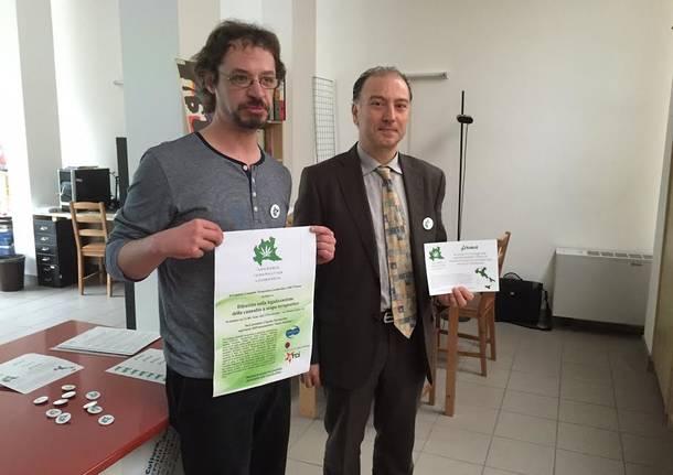 raccolta firme per regolamentare uso farmaci cannabinoidi