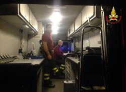 ricerche vigili del fuoco