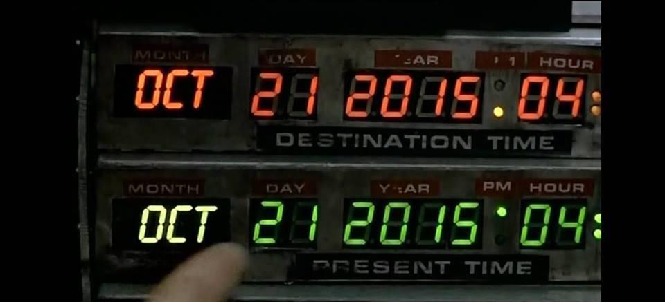 Ritorno al futuro, Marty arriva nel 2015