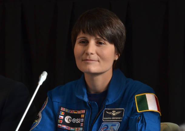 Samantha Cristoforetti a Milano