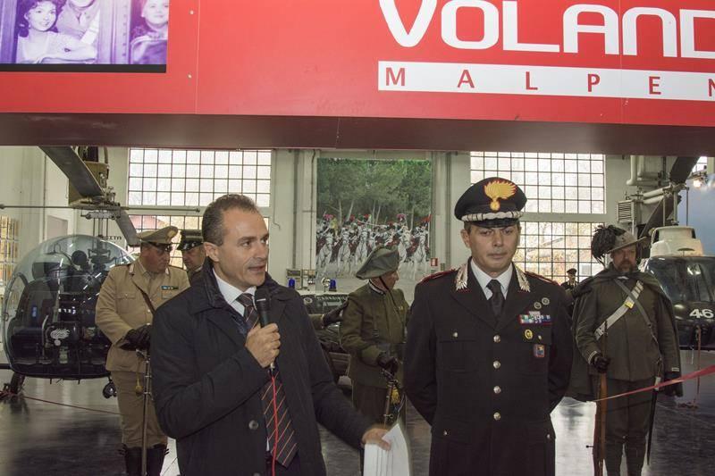 A Volandia l'inaugurazione della Nuova Sezione Museale dedicata all'Arma dei Carabinieri