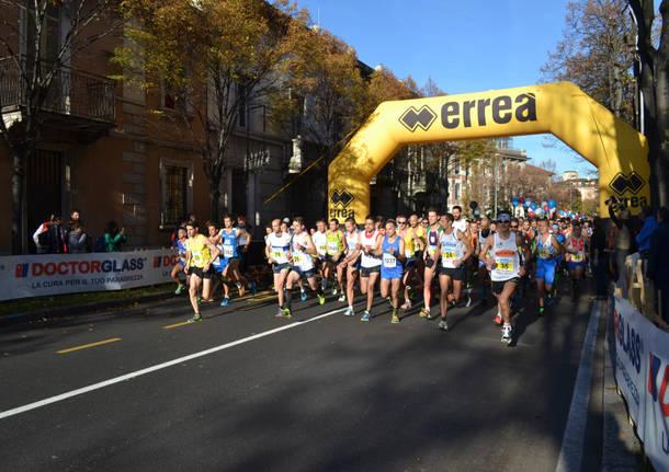 Al via la maratonina