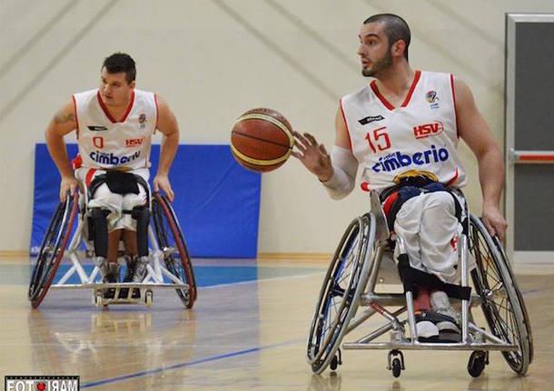 basket carrozzina handicap sport varese