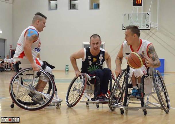 basket in carrozzina handicap sport cimberio varese