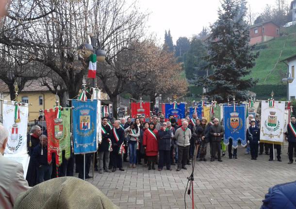 Cerimonia 72esimo della battaglia del San Martino