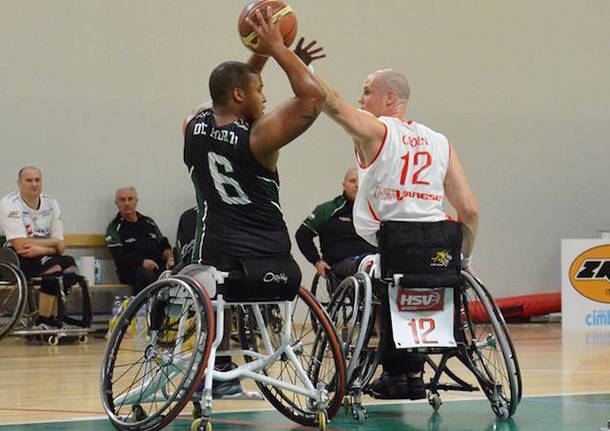 cimberio handicap sport varese basket in carrozzina