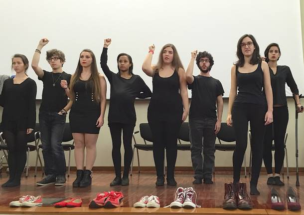 Giornata contro la violenza sulle donne 2015 Varese